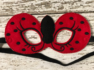 Lady Bug Felt Masks - 805-masks