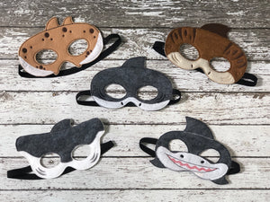 Shark Felt Masks - 805 Masks