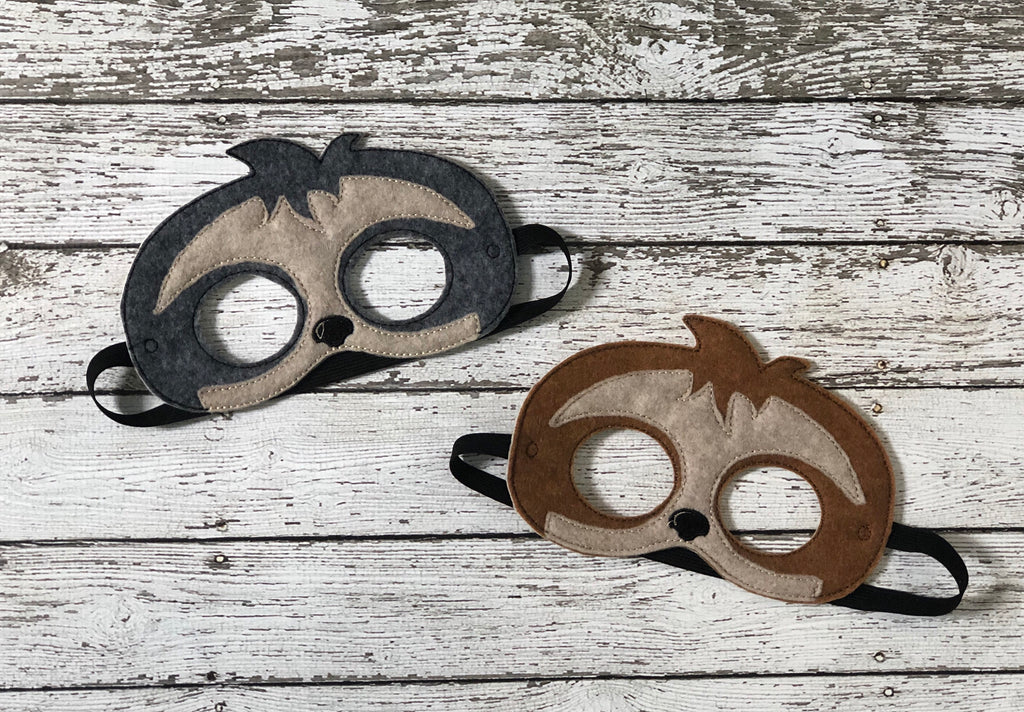 Sloth Felt Mask - 805 Masks