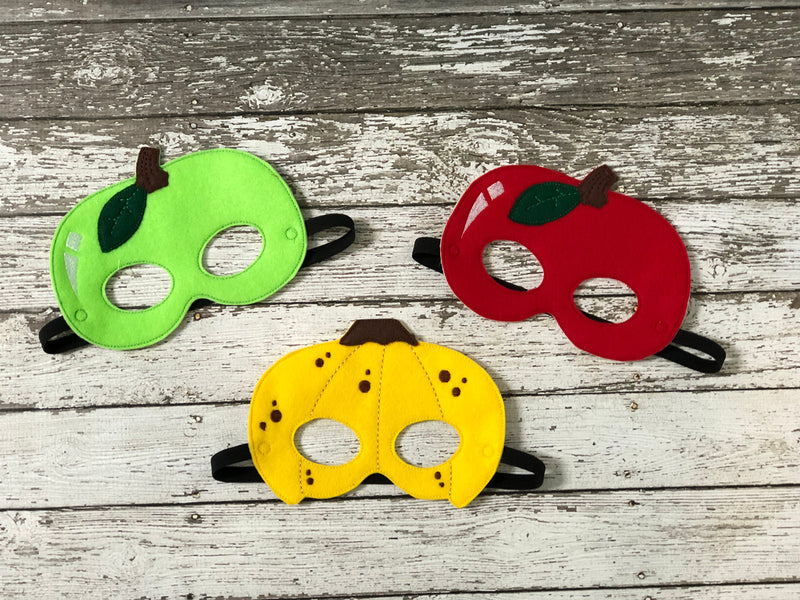 Fruit Felt Masks - 805-masks