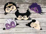Villain Queen Felt Masks