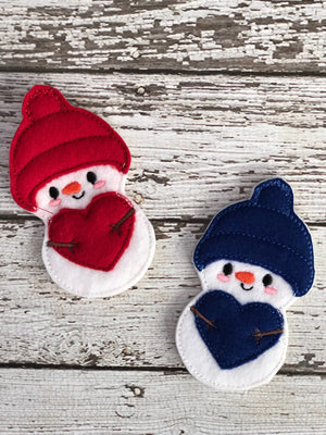 5 Little Snowmen Finger Puppets - 805 Masks
