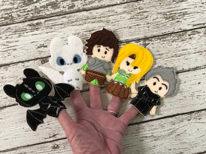 Dragon Felt Finger Puppets - 805 Masks