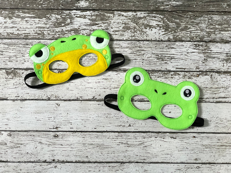 Frog Felt Mask - 805 Masks