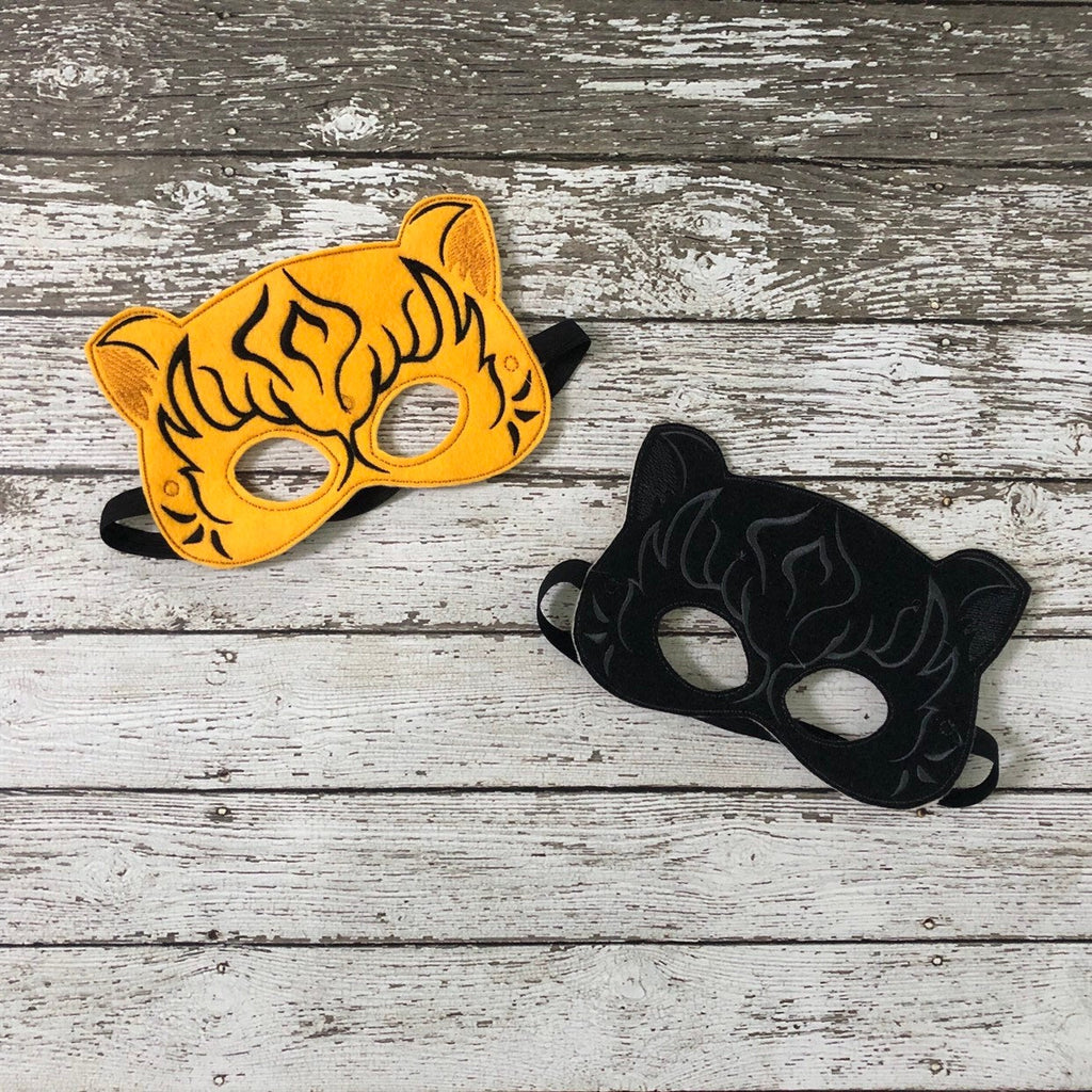 Tiger Felt Masks - 805 Masks