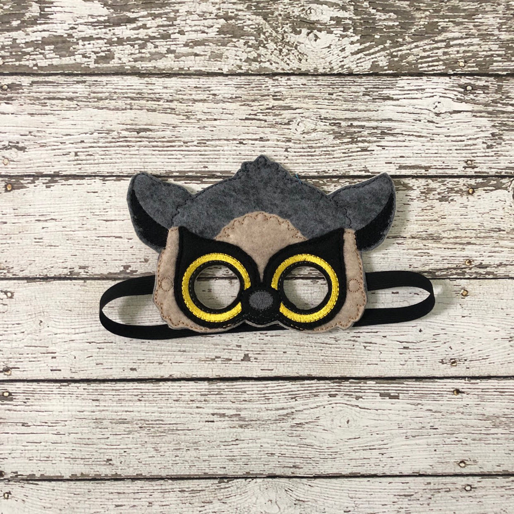 Lemur Felt Mask - 805 Masks