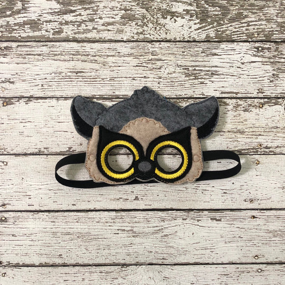Lemur Felt Mask - 805-masks