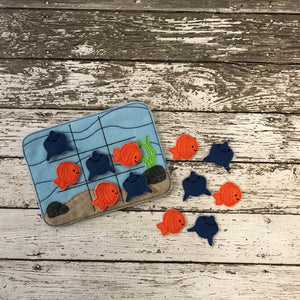 Ocean Tic Tac Toe Felt Game - 805-masks