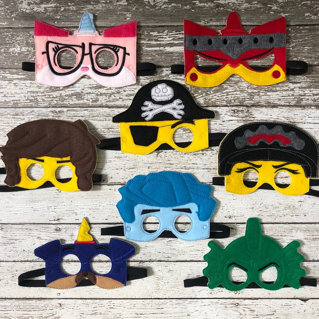 Block People Felt Mask - 805 Masks
