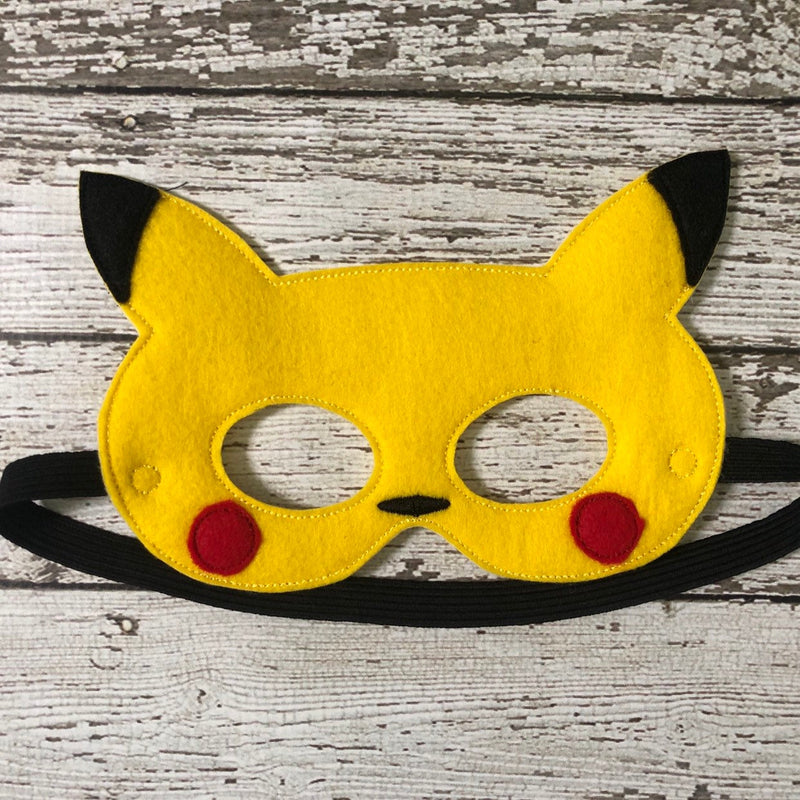 Pokemon Inspired Felt Mask and Tail - 805 Masks