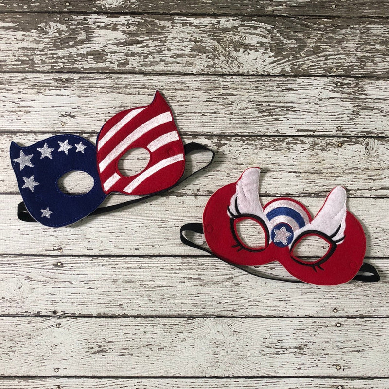 USA Felt Masks - 805-masks