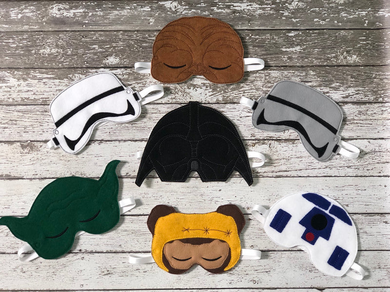 Star Wars Inspired Sleep Mask - 805 Masks