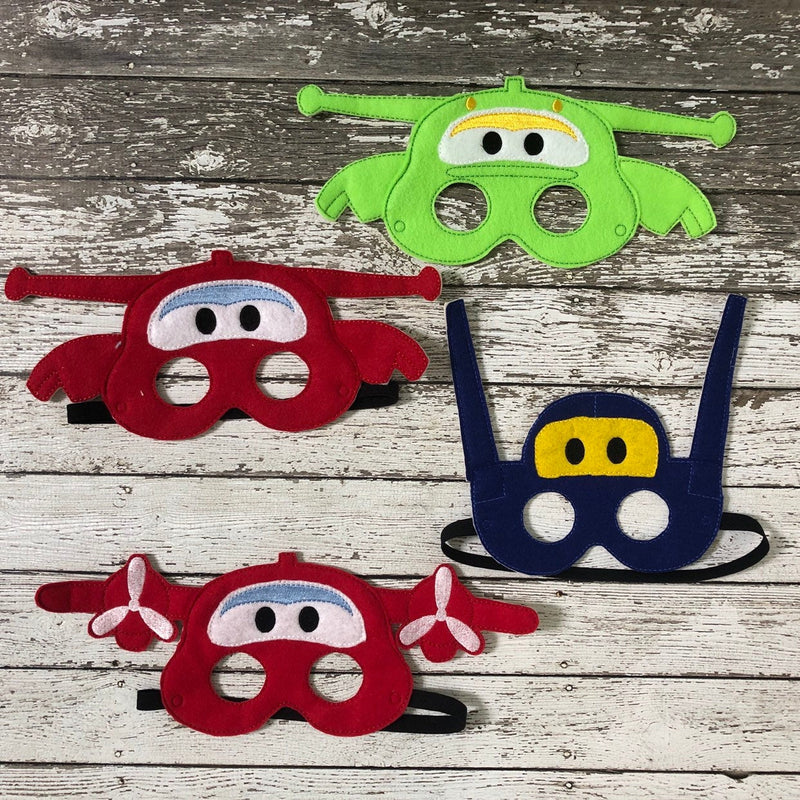 Airplane Felt Masks - 805-masks