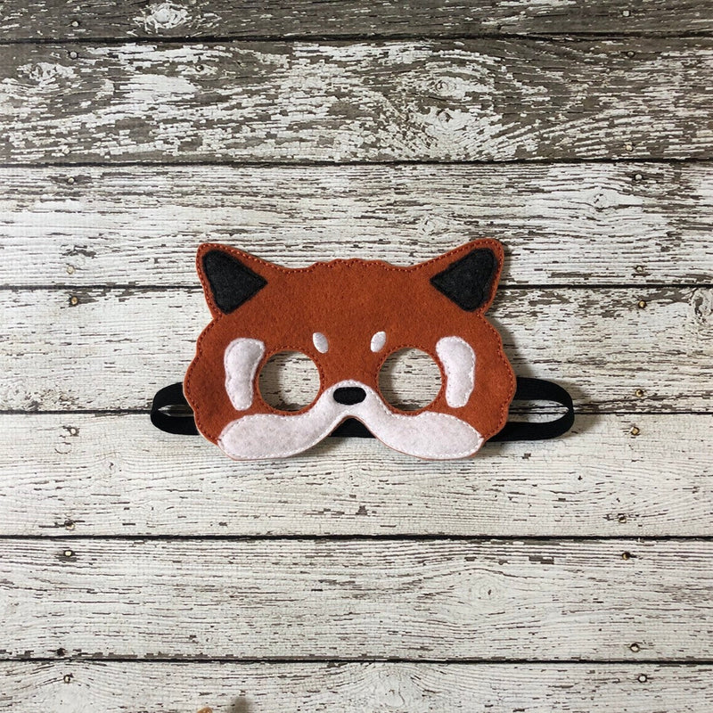 Red Fox Felt  Mask - 805-masks