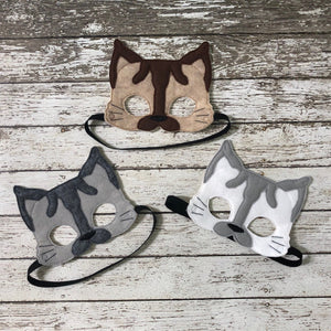 Siamese Cat Felt Mask - 805-masks