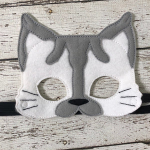 Siamese Cat Felt Mask - 805 Masks