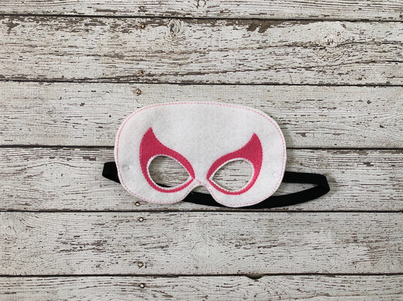 Spider Girl Gwen Inspired Mask Costume - 805-masks