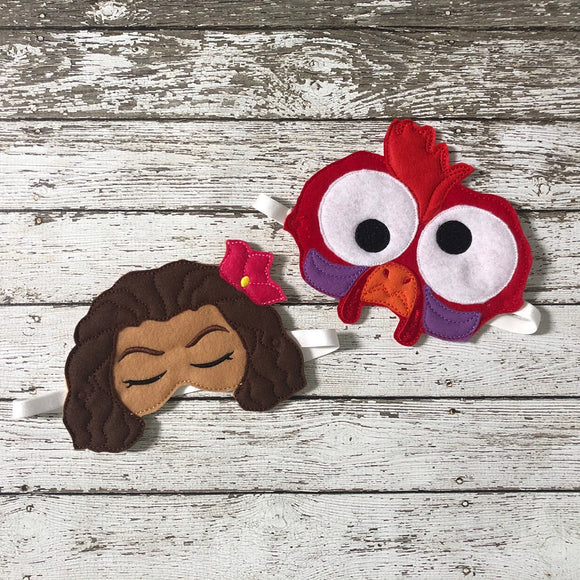 Moana Sleep Mask Hei Hei Sleep Mask - 805-masks