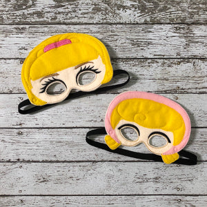 Barbie Mask and Little Bo Peep Mask Toy Story Inspired - 805 Masks