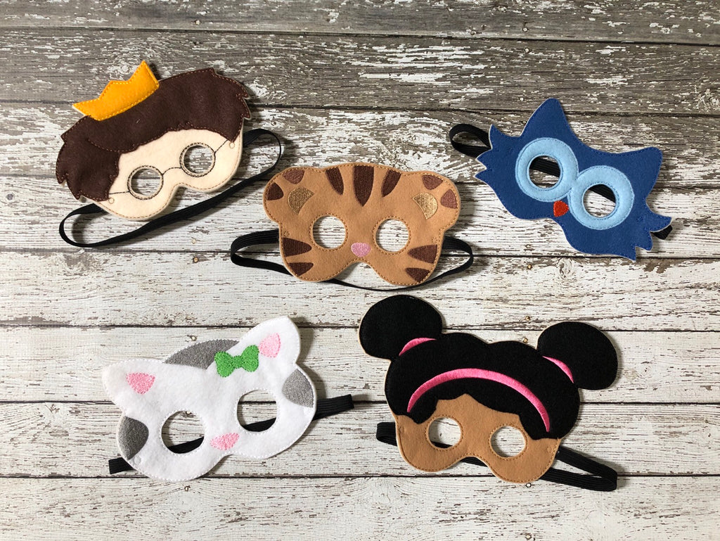 Daniel Tiger Inspired Masks - 805 Masks