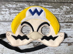 Super Mario Brothers Inspired Masks - 805 Masks