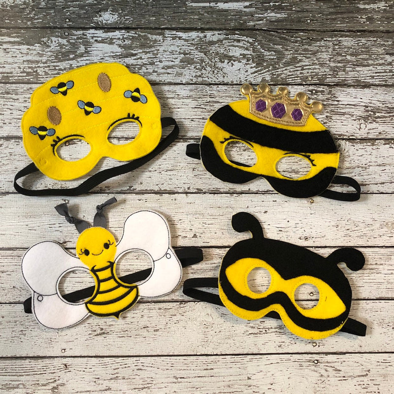 Bee Masks Bumble Bee Mask Bumble Bee Costume - 805 Masks