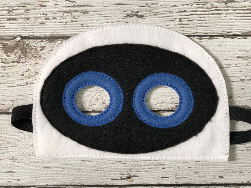 Wall E Inspired Mask - 805 Masks