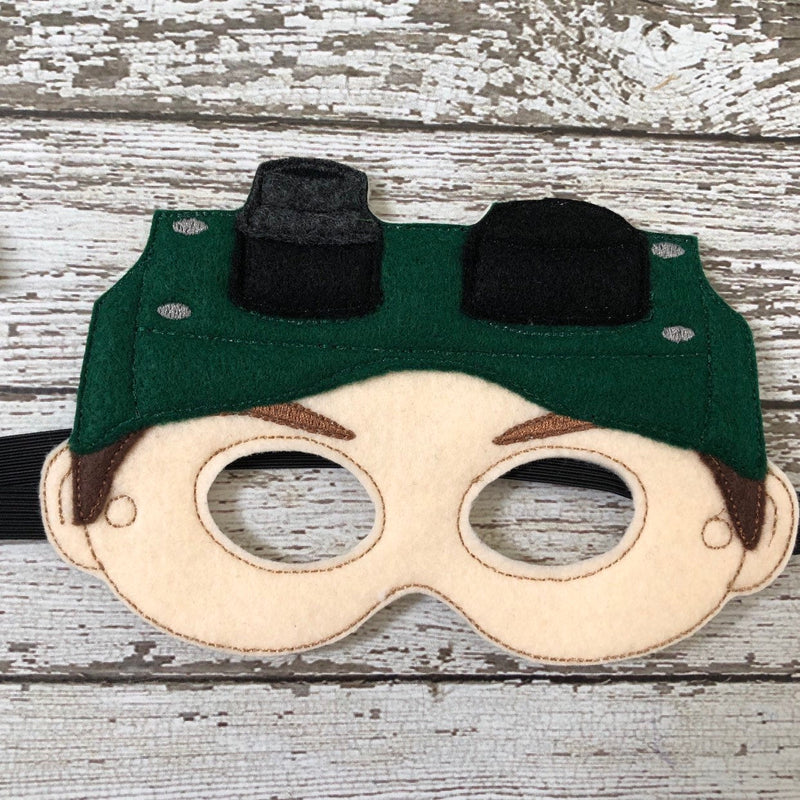 Ghost Busters Inspired Felt Mask Ghost Hunter Mask - 805 Masks