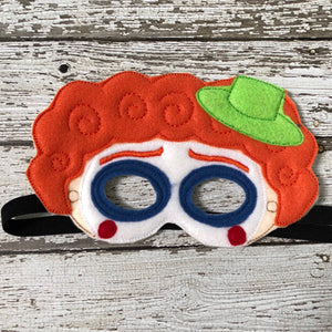 Clown Mask Clown Costume - 805 Masks