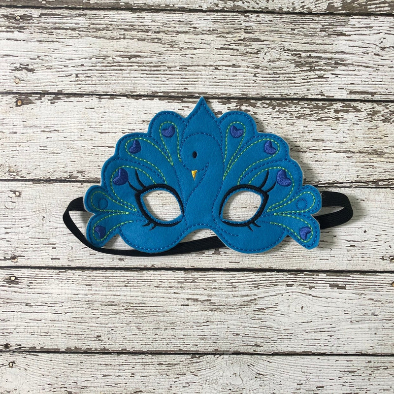 Peacock Mask Peacock Costume Bird Mask BIrd Costume Costume Kids Masks Halloween mask Pretend Play  Birthday Party Favor - 805 Masks