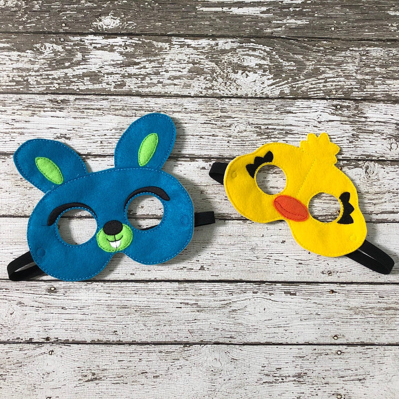 Bunny Mask Ducky Mask Toy Story Inspired Masks - 805-masks