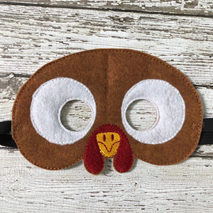 Turkey Mask Turkey Costume Thanksgiving Mask - 805-masks