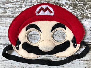 Super Mario Brothers Inspired Masks - 805-masks