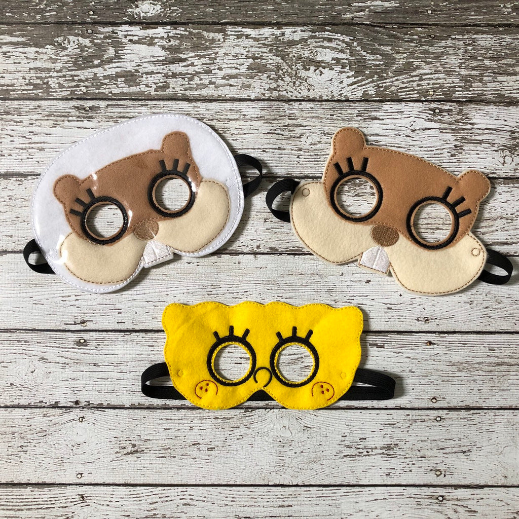 Sponge Bob Inspired Mask - 805 Masks