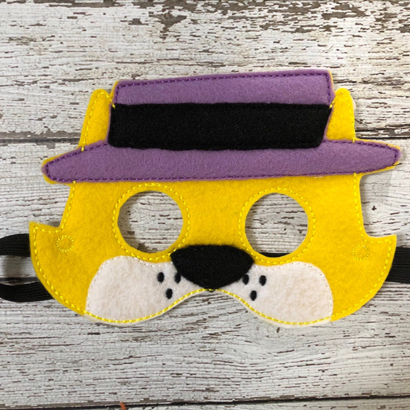 Top Cat Inspired Mask - 805-masks