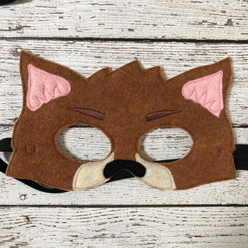 3 Little Pigs Masks Big Bad Wolf Mask - 805-masks