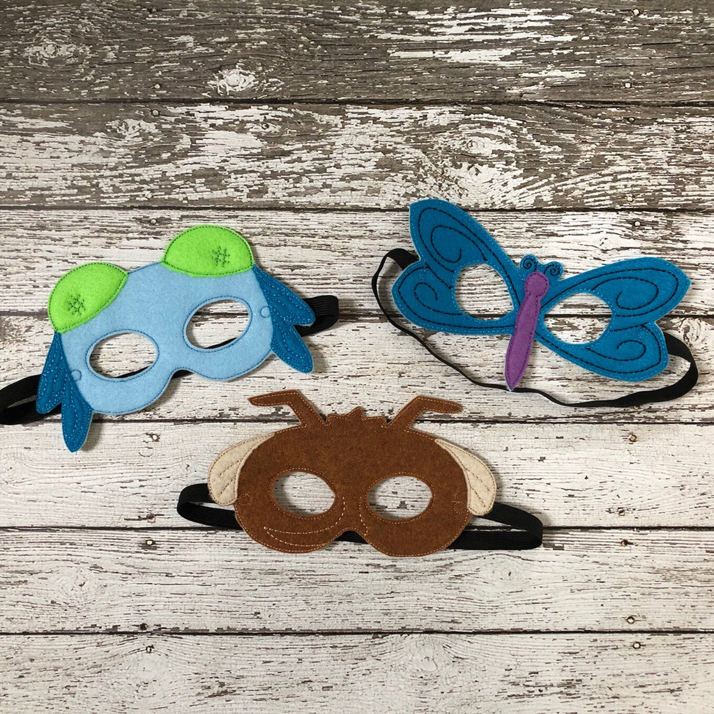 Dragonfly Mask Mosquito Mask Insect Mask - 805-masks