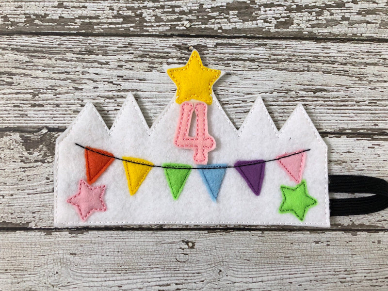 Birthday Crown Headband - 805-masks