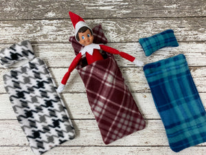 Elf Sleeping Bag and Pillow