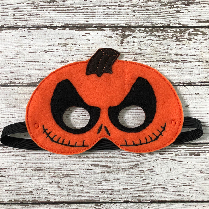 Skeleton Pumpkin Mask