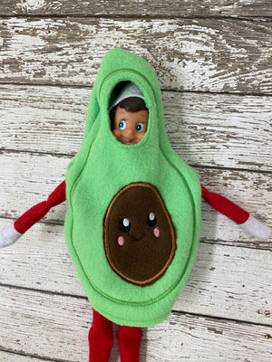 Elf Avocado Costume