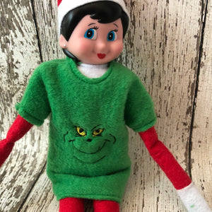 Elf Mean Green One Sweater - 805 Masks