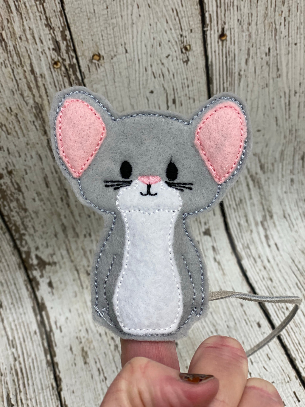 Mouse Finger Puppet