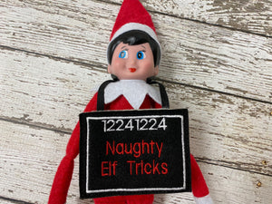 Elf Jail Sign