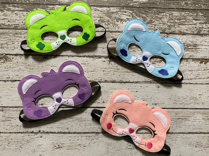 Care Bear Inspired Felt Masks