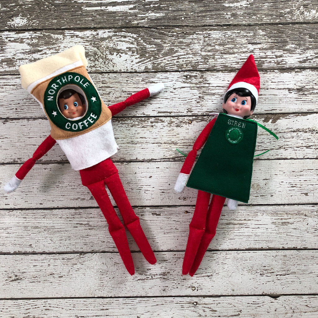 Elf Coffee Costume