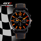 2017 Racing Men Sports Watches Luxury Brand Grand Touring GT Watch Silicone Mens Army Quartz Military Wristwatch Women Fashion