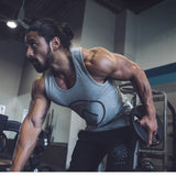 2017 Men Summer gyms Fitness bodybuilding Hooded Tank Top fashion mens Crossfit clothing Loose breathable sleeveless shirts Vest