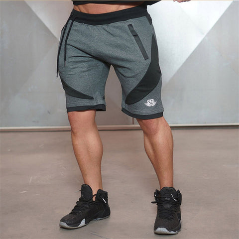 2017 New Summer Mens Shorts Sporgyms Casual Short Brand Clothing Boys Shorts Men Jogger Trousers Knee Length Shorts