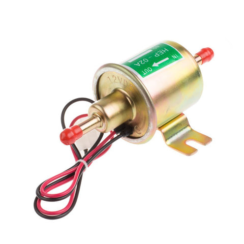 12V Universal Gas Diesel Inline Low Pressure Car Electric Fuel Pump Oil for Diesel & Petrol Engines